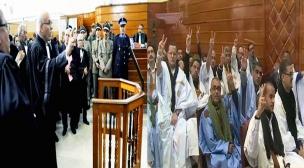 إستئنافية سلا تصدر أحكاما ثقيلة في حق معتقلي أحداث أكديم إيزيك بالعيون