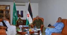 الرئيس الصحراوي يستقبل رئيس المجلس الدستوري
