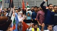بالفيديو:الجالية الصحراوية تصنع الحدث في مظاهرة تاريخية أمام مقر البرلمان الأوروبي