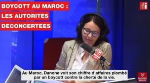 RFI:Boycott au Maroc : les autorités déconcertéesٍ)…Vidéo