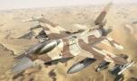 الصحراء الغربية:سيارتان للشرطة الصحراوية تحرك مقاتلات مغربية من نوع إف16 الأمريكية.
