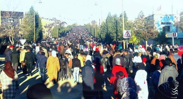 باريس:AMDH تقيم تجمعا تضامنيا مع المحتجين بمدينة جرادة