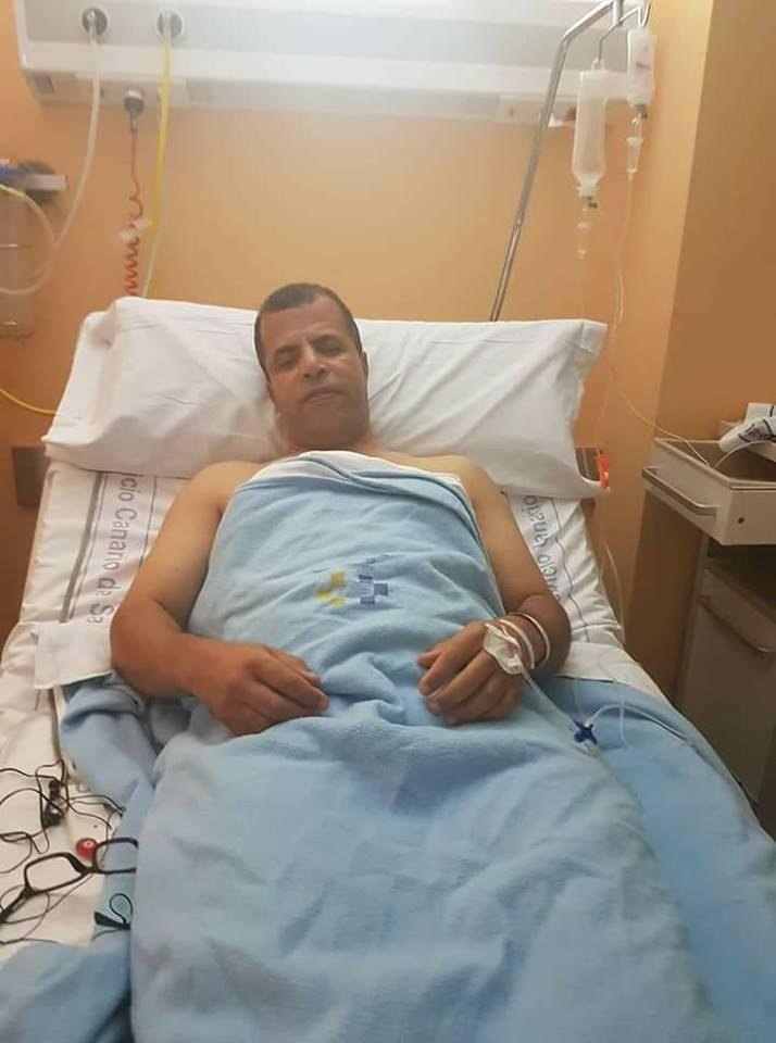 إسبانيا:الإطار الرياضي الصحراوي محمد عالي نرجاه يجري عملية جراحية ناجحة